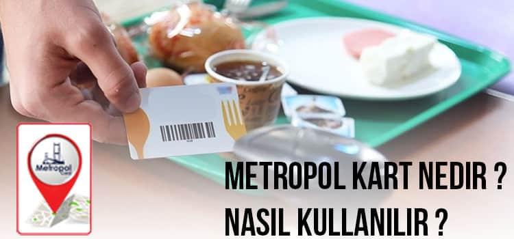 Metropolo Yemek Kartı Nasıl Kullanılır