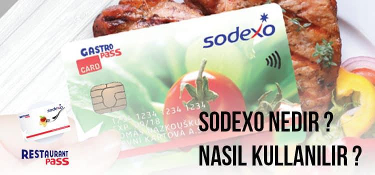 Sodexo Yemek Kartı Nasıl Kullanılır
